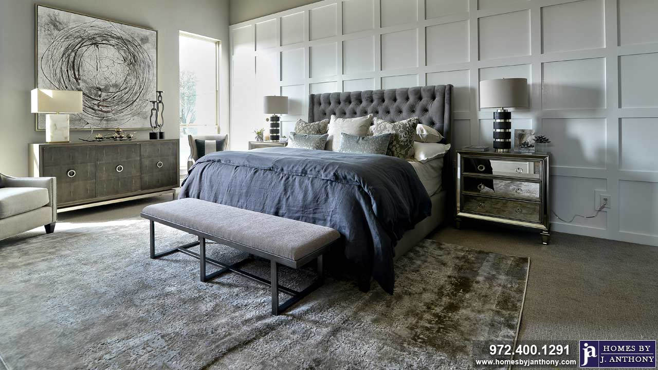 Bedrooms Photo Gallery-Homes By J. Anthony-DFW Custom Home Builder
