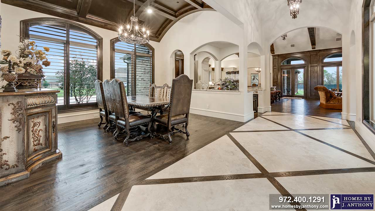 Breakfast Area Photo Gallery-Homes By J. Anthony-DFW Custom Home Builder