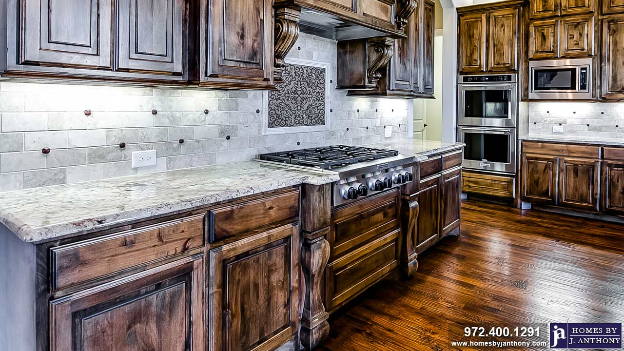Kitchens Photo Gallery-Homes By J. Anthony-DFW Custom Home Builder