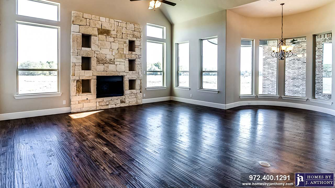 Living, Family, Fireplaces Photo Gallery-Homes By J. Anthony-DFW Custom Home Builder