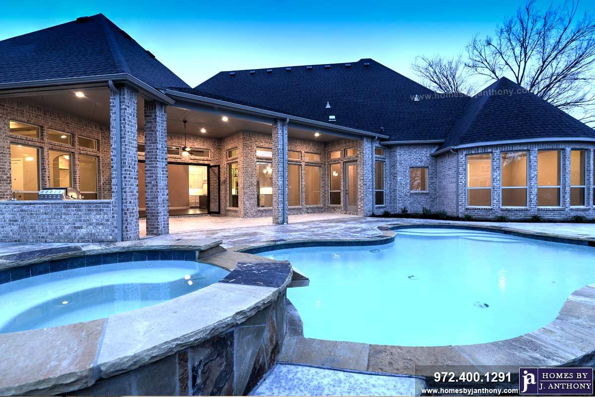 J Anthony Custom Pools Homes By J Anthony North