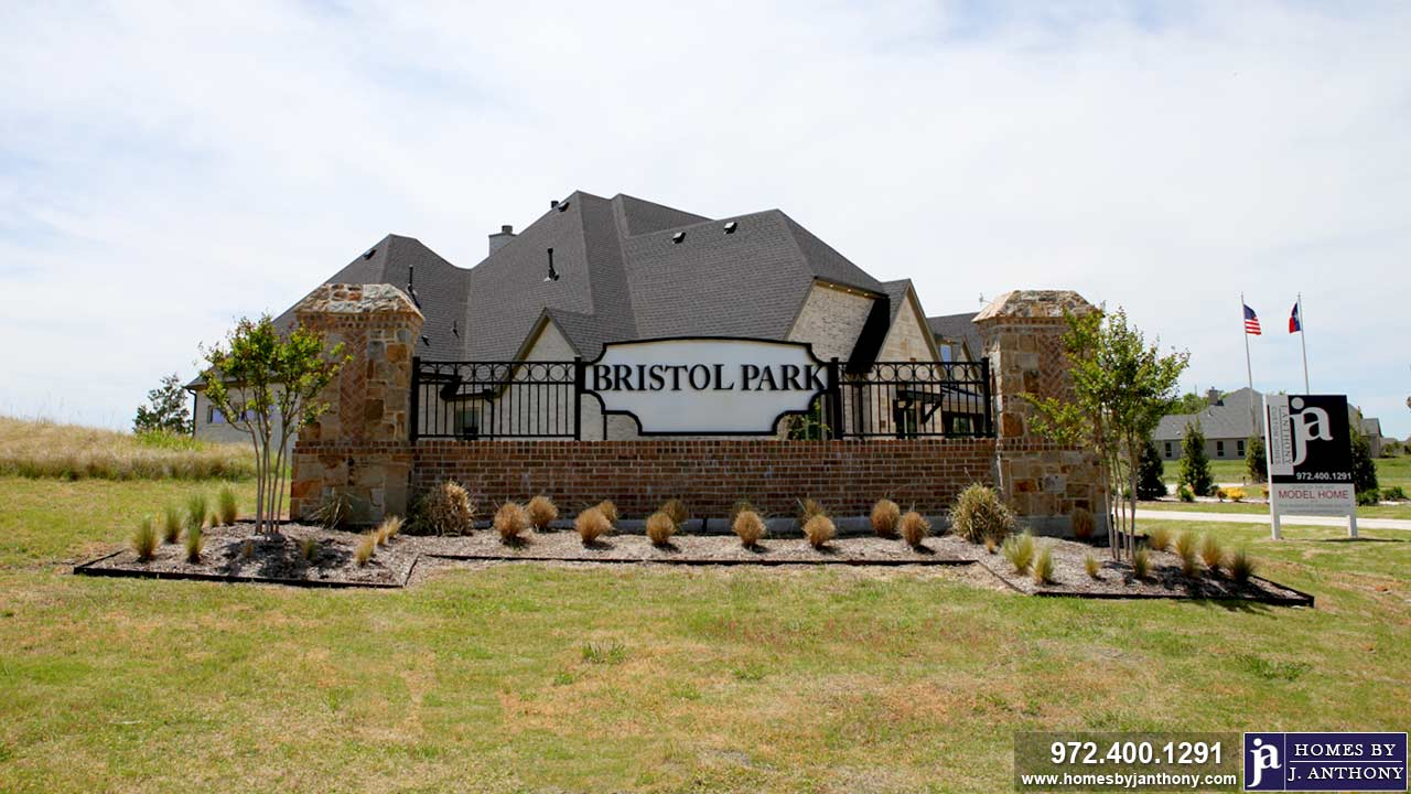 Bristol Park Community, Lovejoy ISD, in Lucas TX- Homes By J. Anthony-DFW Custom Home Builder