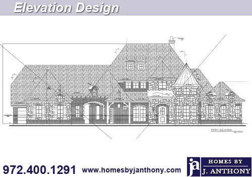 Homes By J. Anthony elevations design