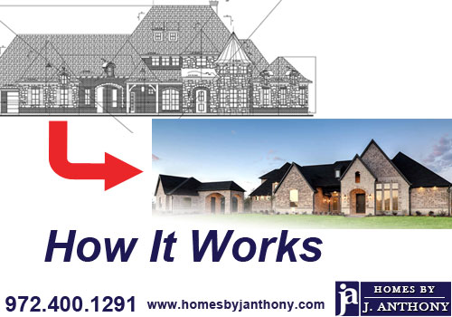 How it works - Homes By J. Anthony-DFW Custom Home Builder