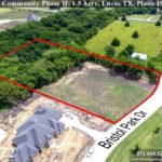 Lot #22 For Sale-ready for home construction. Lucas TX, Plano ISD, Bristol Park Community Phase II.  Homes By J Anthony offers Premier lots in Collin County