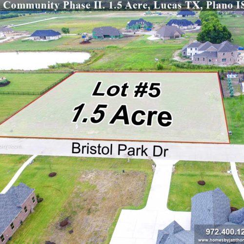 Bristol Park – Homes By J  Anthony – North Texas Award