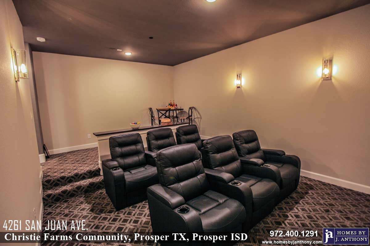 4261 San Juan, Prosper, TX 75078- Home For Sale (Prosper ISD)- 5 bed, 5+ bath, 5509 Sq. Ft. single family home-Homes By J Anthony-Call 972-400-1291