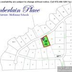 Lot For Sale (Lot#8, McKinney ISD)-Homes By J Anthony offers Premier lots for home construction in Fairview TX, Chamberlain Place Community