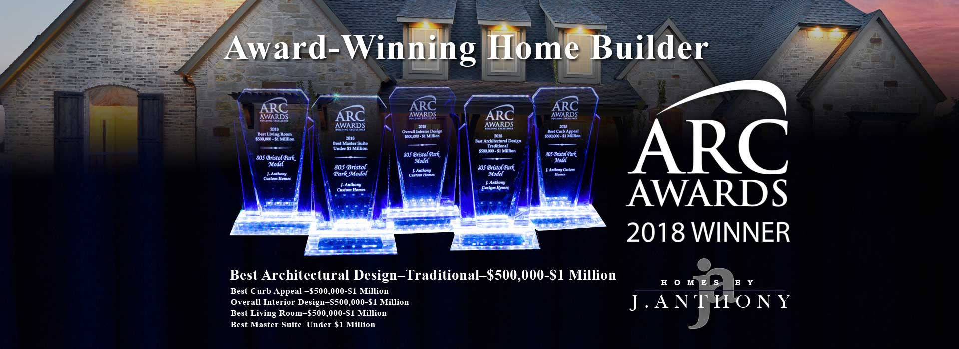 Homes By J  Anthony – North Texas Award-Winning Custom Home Builder