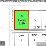 Lot For Sale (Lot#1, Celina ISD)-Homes By J Anthony offers Premier lots for home construction in Celina, TX, Carter Landing Community