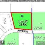 Lot For Sale (Lot#7, Lovejoy ISD)-Homes By J Anthony offers Premier lots for home construction in Lucas, TX, Stinson Highlands Community