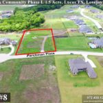 Lot For Sale (Lot#8, Lovejoy ISD)-Homes By J Anthony offers Premier lots for home construction in Lucas TX, Bristol Park Community Ph 1