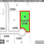 Lot For Sale (Lot#8, Celina ISD)-Homes By J Anthony offers Premier lots for home construction in Celina, TX, Carter Landing Community