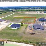 Lot For Sale (Lot#9, Plano ISD)-Homes By J Anthony offers Premier lots for home construction in Lucas TX, Bristol Park Community