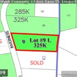 Lot For Sale (Lot#9L, Lovejoy ISD)-Homes By J Anthony offers Premier lots for home construction in Lucas, TX, Stinson Highlands Community
