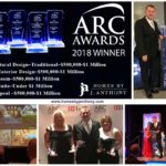 Homes By J. Anthony has won 2018 ARC Awards in 5 categories
