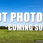 Lot For Sale Photos Coming Soon-Homes By J Anthony offers Premier lots for home construction in Lucas TX