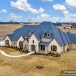 Now Complete, Custom Home in Lucas, TX Bristol Park Community
