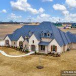 Now Complete, Custom Home in Lucas, TX Bristol Park Community