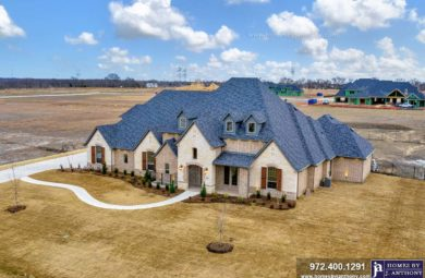 Homes By J Anthony Completed Home Showcase- Bristol Park Community, Lucas TX