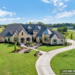 Now Complete, Custom Home in Lucas, TX Barry Farms Community
