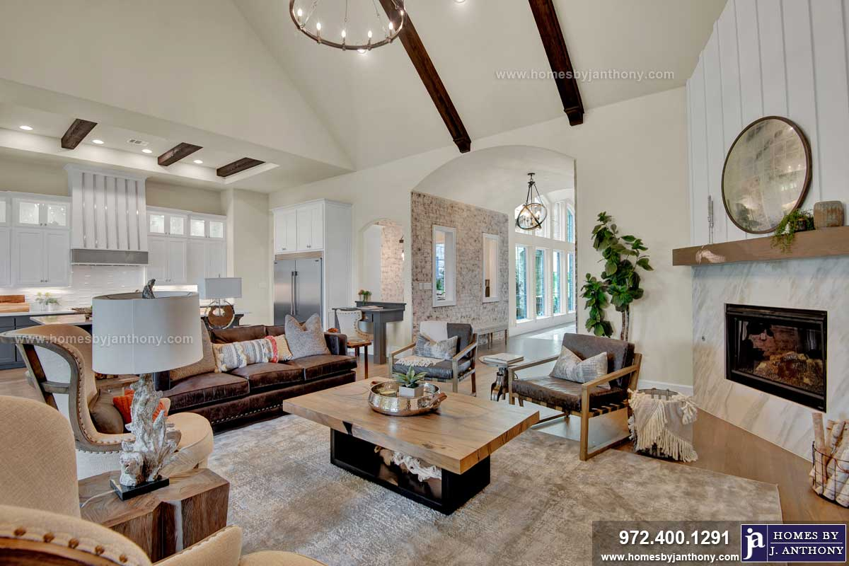 Homes By J Anthony Completed Home Showcase- Barry Farms Community, Lucas TX