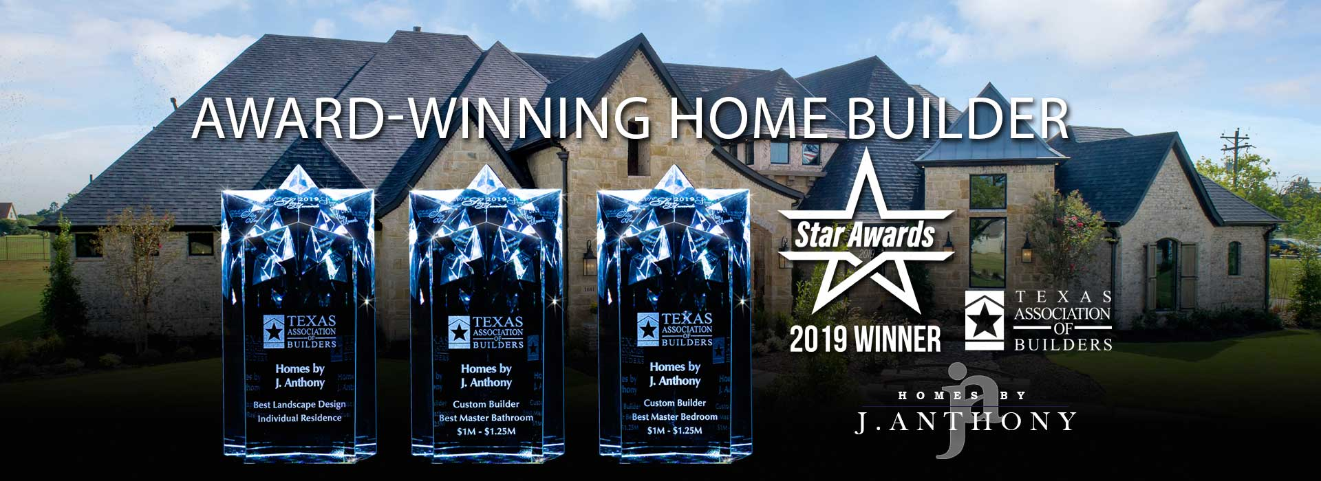 Homes By J Anthony-2019 Award-winning home builder Lucas, TX