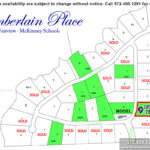 Chamberlain Place Community in Fairview TX-Lot n6 For Sale-November 2019- Homes By J. Anthony-DFW Custom Home Builder