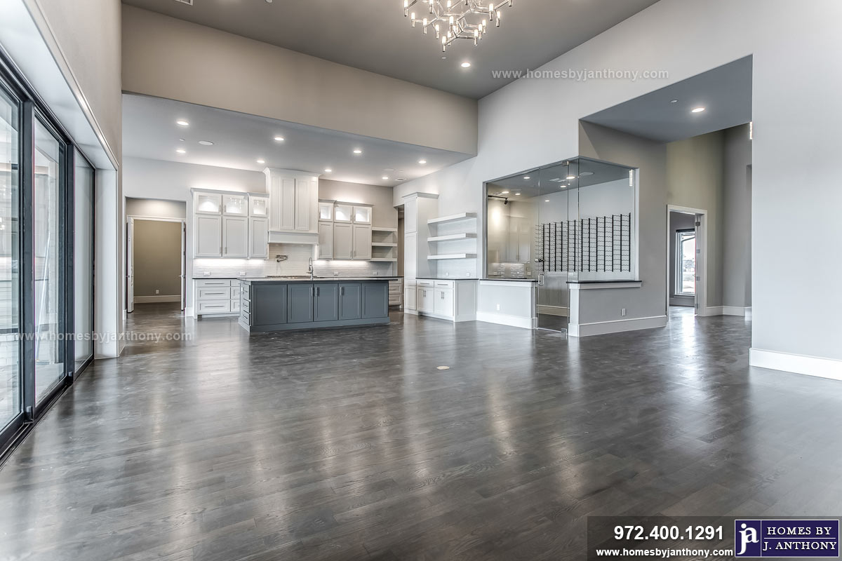 Award Winning Custom Home Builder Homes By J Anthony Completed Home Showcase- Bristol Park Community, Lucas TX, Lovejoy ISD