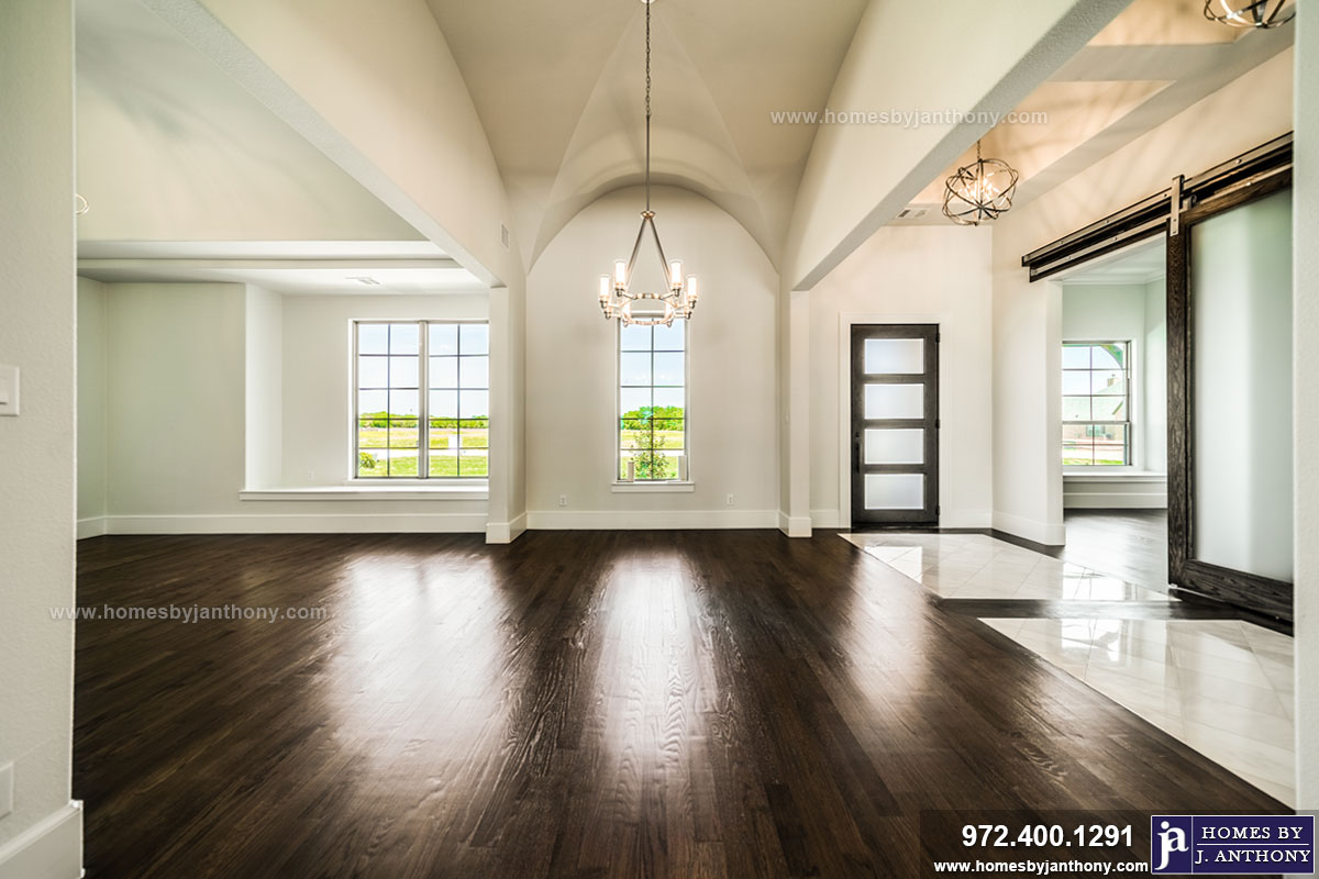 Award Winning Custom Home Builder Homes By J Anthony Completed Home Showcase- Kingsbridge Estates Community, Parker TX