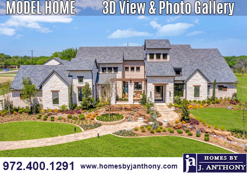 Custom Home in Lucas TX, Barry Farms Community Built By Award-winning Home Builder Homes By J Anthony