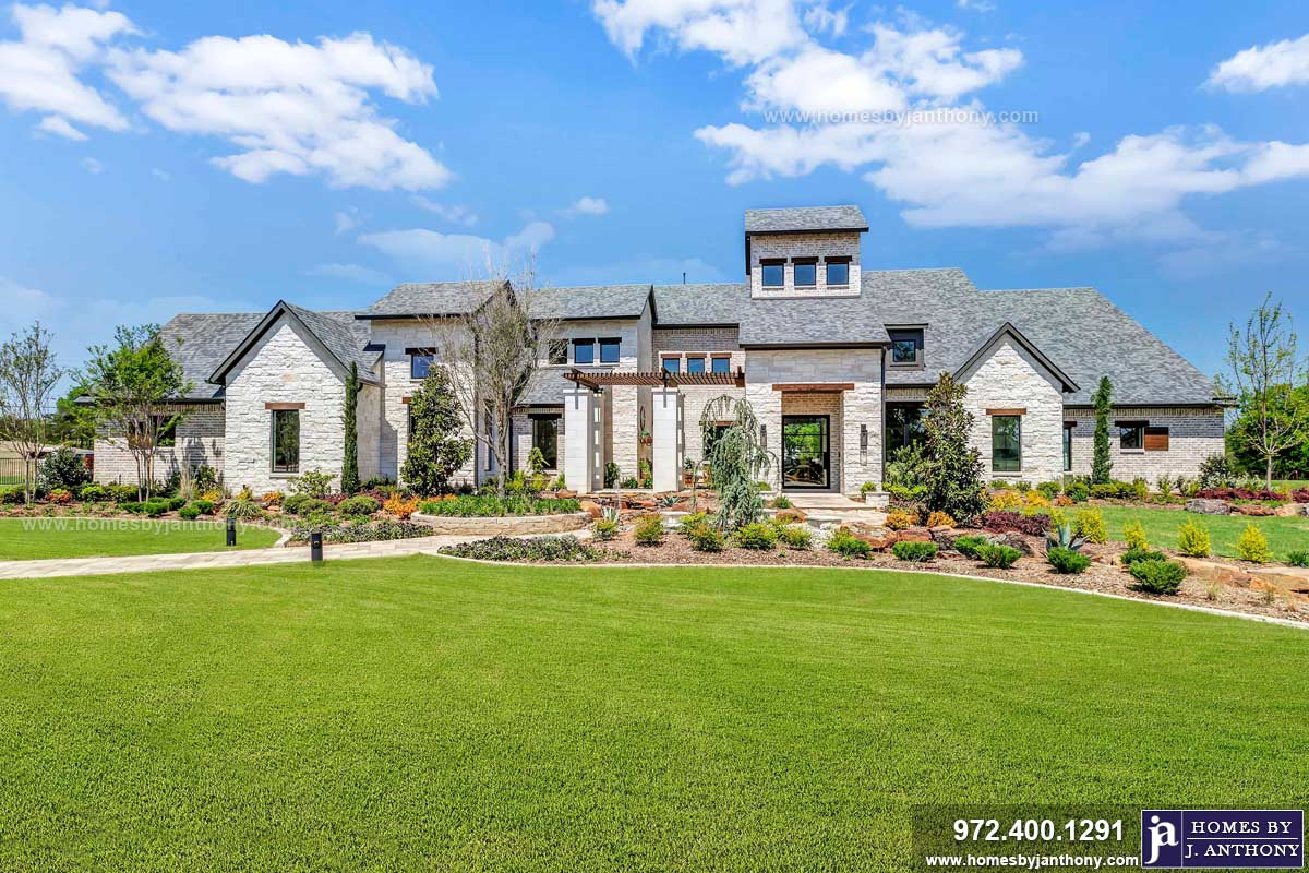 Award Winning Custom Home Builder Homes By J Anthony Completed Home Showcase- Barry Farms Community, Lucas TX, Lovejoy ISD