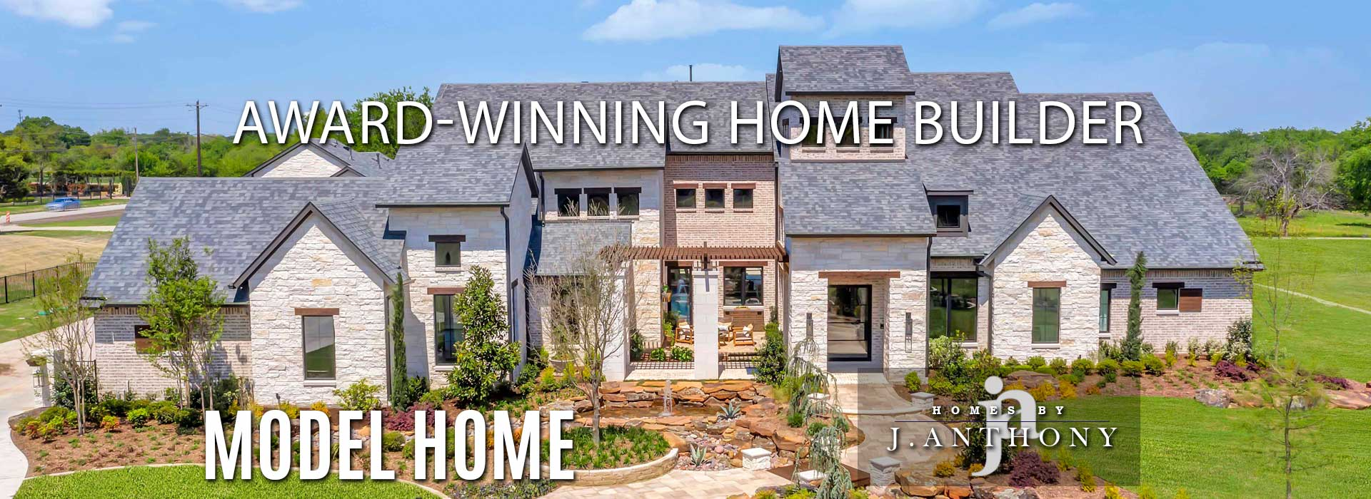 Award Winning Custom Home Builder-Homes By J Anthony Completed Home Showcase- Barry Farms Community, Lucas TX, Lovejoy ISD