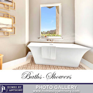Homes By J Anthony Baths and Showers Photo Gallery