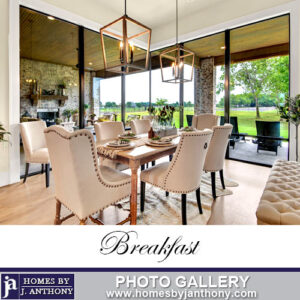 Homes By J Anthony Breakfast nooks Photo Gallery