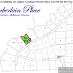 Lot For Sale (Lot#13c, McKinney ISD)-Homes By J Anthony offers Premier lots for home construction in Fairview TX, Chamberlain Place Community
