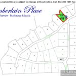 Lot For Sale (Lot#19c, McKinney ISD)-Homes By J Anthony offers Premier lots for home construction in Fairview TX, Chamberlain Place Community