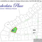 Lot For Sale (Lot#5i, McKinney ISD)-Homes By J Anthony offers Premier lots for home construction in Fairview TX, Chamberlain Place Community