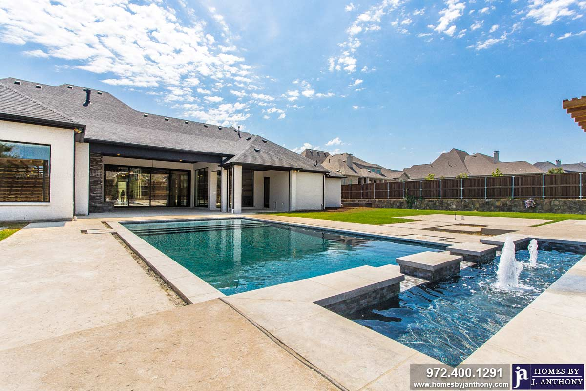 Award Winning Custom Home Builder-Homes By J Anthony Completed Home Showcase 2020 - Prosper TX